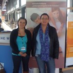 Frau Cullmann und Frau Priestersbach für die IGS in Mainz