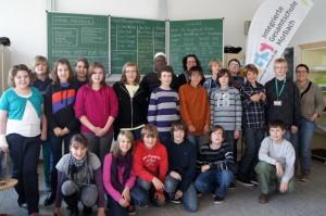 Herr Lakami Maguiraga aus Mali besucht Schülerfirma