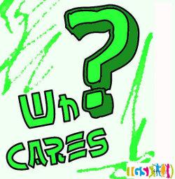 "Logo der Schulband ""Who Cares"""